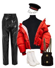 """""""Untitled #149"""" by arimanzoni ❤ liked on Polyvore featuring Kuboraum, TIBI, Ralph Lauren Collection, Chanel and Maison Margiela"""