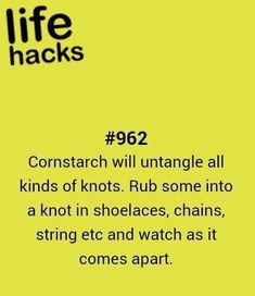diy, knot, tips, hacks, 1000 life hacks - Diy household tips Life Hacks Iphone, Life Hacks Diy, Hack My Life, Simple Life Hacks, Useful Life Hacks, Life Tips, Diy Hacks, I Need To Know, Things To Know