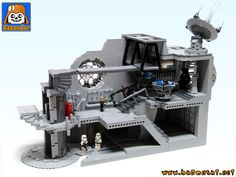 Hello, Here's my new model : the Emperor's Throne Room. Like my previous Death Star models http://www.eurobrick...er +death +star it is build from the very ...