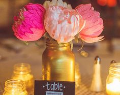 paper flowers peonies wedding flowers paper centerpieces by FlowerDecoration   Etsy