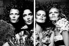 Magazine: W (February 2009) Editorial: Le Chic Photographers: Mert Alas & Marcus Piggott