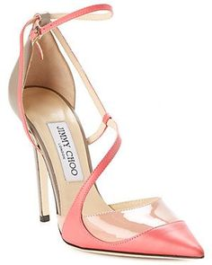 "Jimmy Choo ""Minati"" Leather Pump"