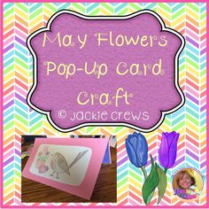 FREEBIE! This spring pop-up card craft is my way of saying thanks to my followers :). This product has step-by-step directions for your kiddos to create a very cute pop-up card for a variety of occasions in springtime. I included tips for teachers and everything you need to make the cards except for the materials. You will need construction paper, scissors, glue, and crayons to complete the cards.
