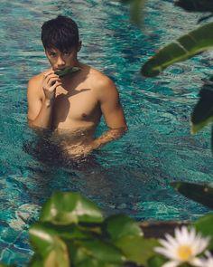 (1) New Message! Sea And Ocean, Asian Men, Bikinis, Swimwear, Surfing, Guys, Male Beauty, Tropical, Fan