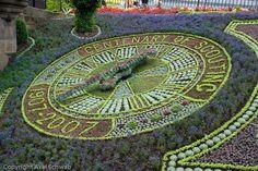 Floral Clock  Edinburgh, Scotland  This is wayy cool!