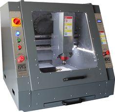 GHS4D Milling Machine, Machine Tools, Cnc Plans, Welding Design, Diy Cnc, Machine Design, Cnc Router, Metal Working, 3d Printing