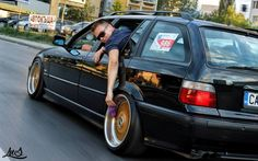 BMW e36 touring: allways keep your wheels clean :)