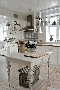 shabby chic kitchen designs – Shabby Chic Home Interiors Decor, Beautiful Kitchens, Interior, Home Remodeling, Cheap Home Decor, Home Decor, House Interior, Home Kitchens, Interior Design