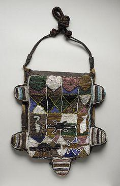 Dance Panel, Africa, Nigeria, Yoruba peoples, 20th century, Beads