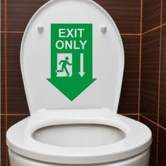 Pleasing 54 Best Toilet Humour Images Toilet Decals Bathroom Humor Ibusinesslaw Wood Chair Design Ideas Ibusinesslaworg