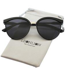 b817c3c5e9 LeonLion Bonbons Marque Designer Cat Eye lunettes de Soleil Femmes De Luxe  En Plastique Lunettes de Soleil Classique Rétro En Plein Air Oculos De Sol  Gafas