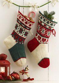 Free Regia Xmas stocking pattern