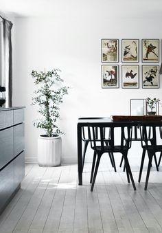 Earthy Scandinavian home