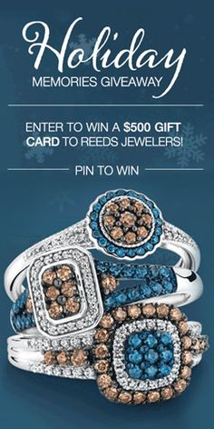 #Win a $500 Gift Card to #REEDS Jewelers! #jewelry #contest VALID UNTIL JAN 1