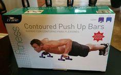 Crane Contoured Push Up Bars, Purple, Unopened Box - http://sports.goshoppins.com/exercise-fitness-equipment/crane-contoured-push-up-bars-purple-unopened-box/