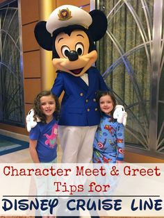 Disney Cruise Line character meets are just one part of the magical experience you can have on your next Disney Cruise Line vacation! Follow these easy tips for a stress-free character meet 'n greet experience!