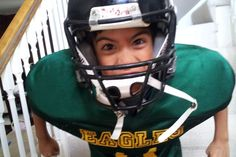 Are you ready for some {video game} football? My kids are ready to bring it! Youth Football, Football Season, Football Helmets, Video Game, Bring It On, Seasons, People, Kids, Youth Soccer