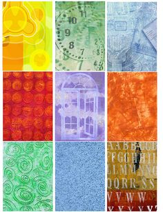 Free ATC Backgrounds | Flickr - Photo Sharing!