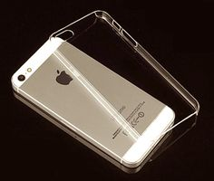 Clear DIY iPhone 5/5S thin hard QUALITY case by CoralCrafting