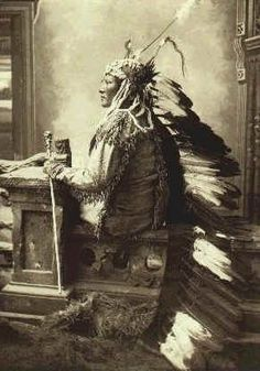 Carl Moon Chief Rain-in-the-Face