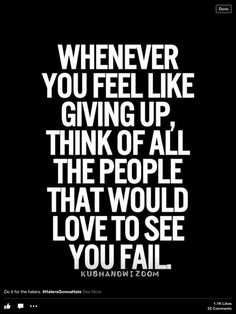 Quotes about Life : Don't fail