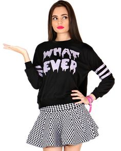WHATEVER SWEATER at Shop Jeen - SHOP JEEN