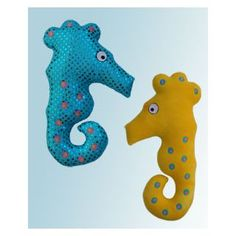 In The Hoop :: Softie Toys :: Seahorse Softies - Embroidery Garden In the Hoop Machine Embroidery Designs