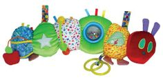 Amazon.com : The World of Eric Carle: Activity Caterpillar by Kids Preferred : Baby Touch And Feel Toys : Toys & Games