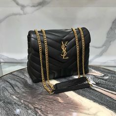 YSL MONOGRAM LOULOU MEDIUM SIZE GOLD HARDWARE - UUBAGS.RU Ysl Purse, Women's Crossbody Purse, Ysl Bag, Vuitton Bag, Luxury Purses, Luxury Bags, Beautiful Handbags, Luxury Gifts, Shoes
