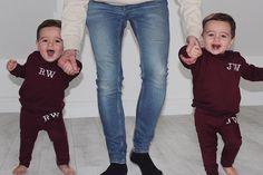 Twin Baby Boys, Twin Babies, Twins, Skinny Jeans, Sweatpants, Babys, Santa, Instagram, Ideas