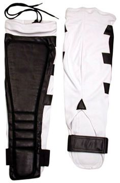 HighSpots.com: White and Black Tri-Winged Japanese Spandex Style Kickpads