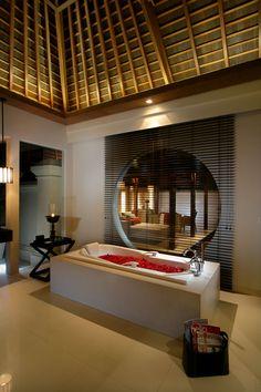 Balinese bathroom