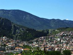 The lovely Livadeia, with lush greenery, is built amphitheatrically at the feet of mount Elikon in central Greece. Homer refers to Livadeia with its former name, Mideia #Livadeia #Livadia #Boeotia #Greece #Monterrasol #travel #privatetours #customizedtours #multidaytours #roadtrips #travelwithus #tour #landscape #nature #architecture #river #mountains #summer #beauty #beautiful #tourism #thisisgreece #city #destination #green #river #castle #bridge Green River, Summer Beauty, Day Tours, San Francisco Skyline, Lush, Greenery, Cities, Tourism, Dolores Park