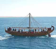 Min of the Desert, replica of a 3800 years old oceangoing Egyptian ship