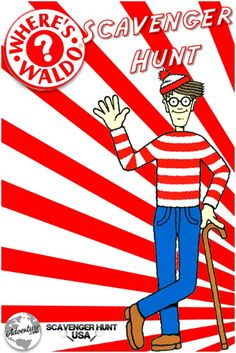 Where's Waldo Scavenger Hunt?!....clearly awesome