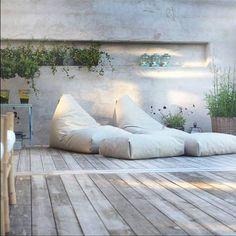 Felix lounger - TRIMM - www. Outdoor Lounge, Outdoor Spaces, Outdoor Living, Outdoor Decor, Garden Pool, Balcony Garden, Terrace, Terrasse Design, Garden Spaces