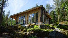 Kuusamo Virkkula huvila Gazebo, Outdoor Structures, Cabin, House Styles, Home Decor, Kiosk, Decoration Home, Room Decor, Pavilion