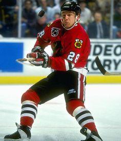 Steve Larmer - Chicago Blackhawks