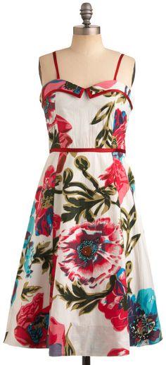 ModCloth  Bloom Bayou Dress