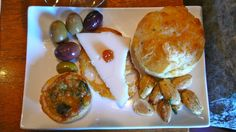 Cheese puffed pastery, OIlives, mini quiche, marcona almonds and manchego cheese at Robert Sinskey.  #organic, #biodynamic, #green, #sustainable, #eco, #ecofriendly, #natural, #wine, #vineyard, #cheese, #artisan, #almonds, #paster