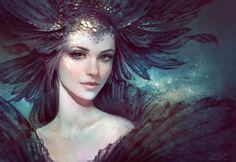 Black Goldfish by Selenada on DeviantArt