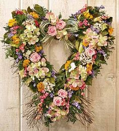 Garden Heart Wreath...