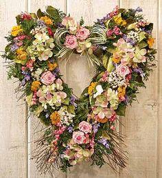 Garden Heart Wreath...