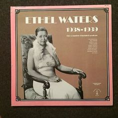 Ethel Waters / 1938-1939 / the complete bluebird sessions #recordcollection #recordjunkie #ladiesofblues #ethelwaters #bluebirdsessions