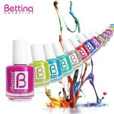 Cuéntanos... ¿Cuáles son tus colores de #Bettina #NailEnamel favoritos? #NailPolish #Nails
