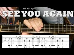 SEE YOU AGAIN (Furious 7): Fingerstyle Guitar Lesson + TAB by GuitarNick - YouTube