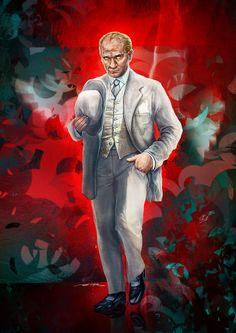 Gazi Mustafa Kemal ATATURK by ertacaltinoz