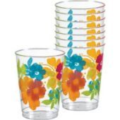 Hibiscus Plastic Tumblers - Party City