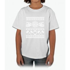 Fire Dept Merry Christmas T Shirt Young T-Shirt