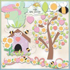 Spring Days 1 - NE Trina Clark Clip Art : Digi Web Studio, Clip Art, Printable Crafts & Digital Scrapbooking!
